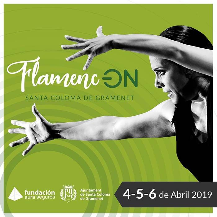 Festival Flamenc-On Sta Coloma Cartel