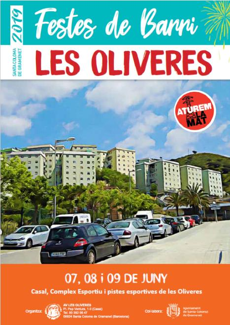 Les Oliveres canal 150 gramenet
